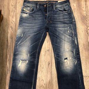 Used diesel man jeans